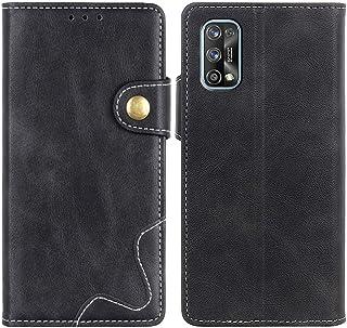 MOONCASE Realme 7 Pro Case, Premium PU Leather Cover Wallet Pouch Flip Case Card Slots Magnetic Closure Mobile Phone Prote...