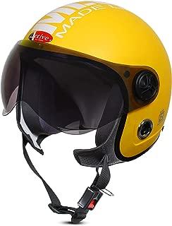 ACTIVE JET MLG 1901 Open Face Helmet (YELLOW)