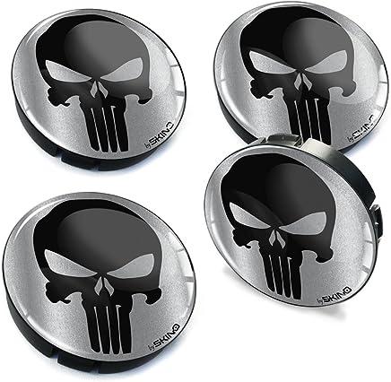 SkinoEu/® 4 x 60mm 3D Gel Car Wheel Centre Universal Rims Hub Center Caps Vehicle Auto Tuning Emblem Mickey Mouse C 37