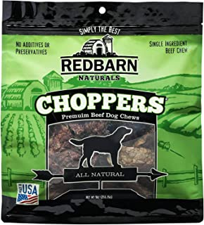 Redbarn Choppers Beef Lung Chews For Dogs (9 Ounce Bag)