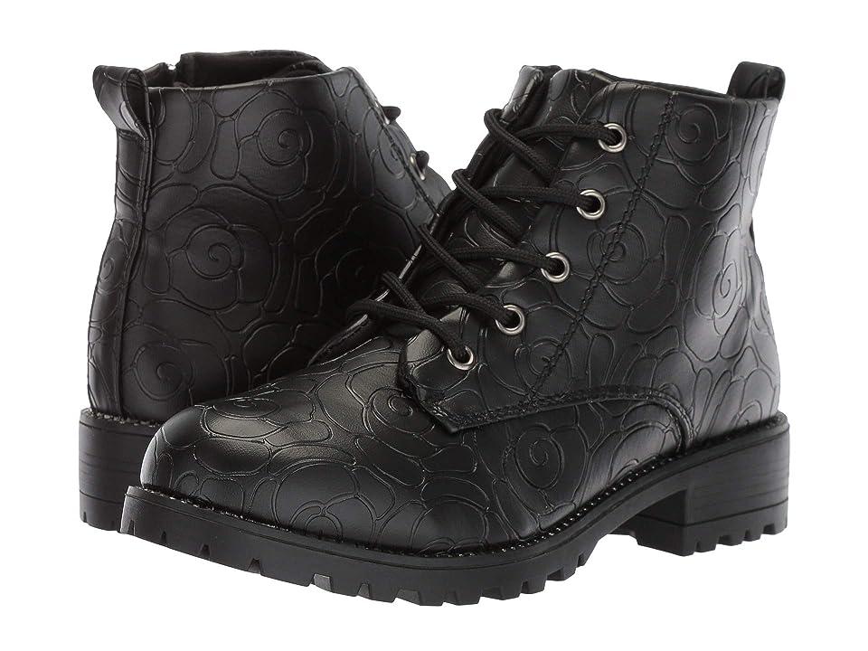 Steve Madden Kids Jrosie (Little Kid/Big Kid) (Black) Girls Shoes