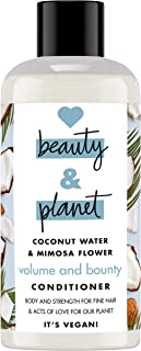Love Beauty and Planet Coconut Water & Mimosa Flower Conditioner 6 x 100 ml