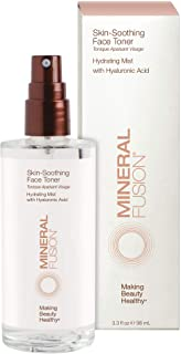 Mineral Fusion Facial Toner, Skin Soothing, 3.3 Ounce (Packaging May Vary)