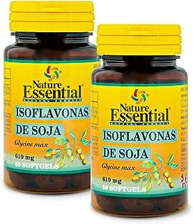 Isoflavonas de soja 620 mg. 50 perlas. (Pacl 2 unid.)