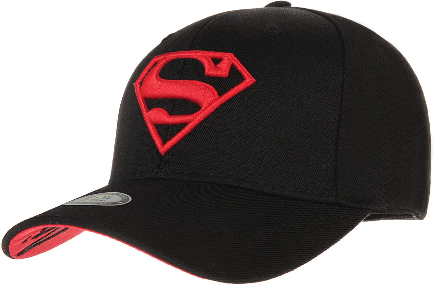 Max 83% OFF WITHMOONS Limited time trial price Superman Shield Embroidery Baseball Cap AC3260