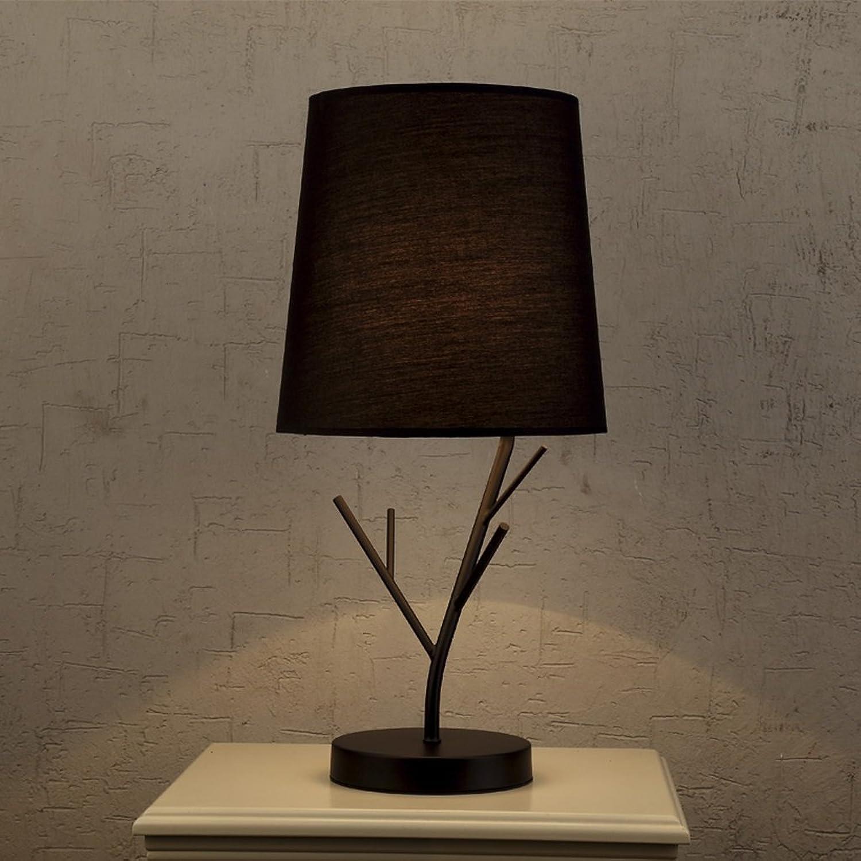 XUANLAN Moderne LED-Lampe, die Zweige der kreativen Eisen Nachttischlampen, Wohnkultur Wohnzimmer Esstisch Lampe, 53  26cm