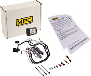 MPC Complete Factory Remote Activated Remote Start Kit for 2009-2012 Nissan Altima -Push-to-Start - with T-Harness