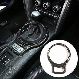 Car Interior Gear Shift Frame Trim Sticker for Subaru BRZ Toyota 86 2013-2020 Accessories (Carbon Fiber)