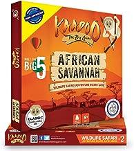 KAADOO African Savannah-Jungle Safari Board Game
