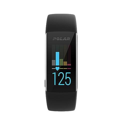 Polar A370, Activity Tracker per Fitness, Monitoraggio attività Fisica con Cardiofrequenzimetro Integrato, Display Touch Screen Unisex-Adulto, Nero, Medium/Large