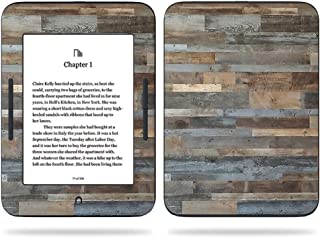 MightySkins Skin Compatible With Barnes & Noble NOOK GlowLight 3 (2017) - Gray Wood | Protective, Durable, and Unique Vinyl Decal wrap cover | Easy To Apply, Remove | Made in the USA
