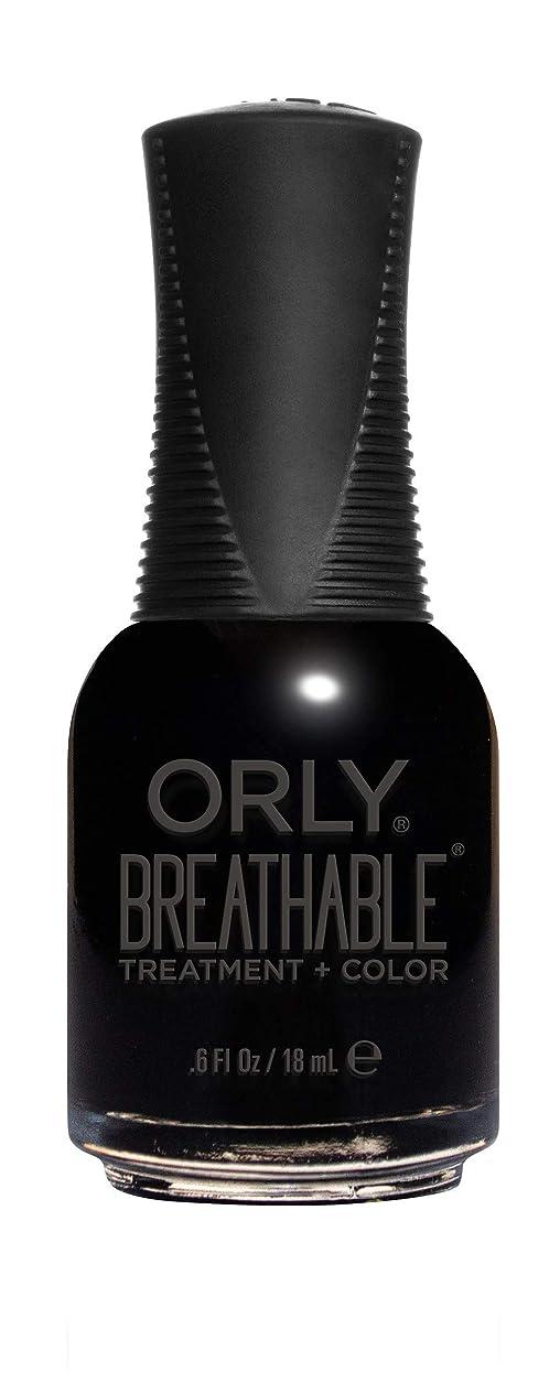 素晴らしいです終わらせる印象ORLY Breathable Lacquer - Treatment+Color - Mind Over Matter - 18 mL / 0.6 oz