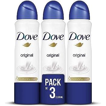 Dove - Desodorante Aerosol Original, pack de 6x200 ml: Amazon.es ...