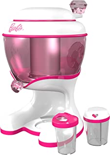Barbie Ice Cream Maker Toy, Color White and Pink