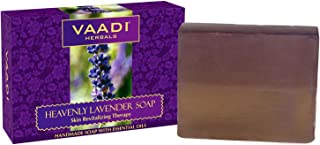 Vaadi Herbals Heavenly Lavender Soap with Rosemary Extract, 75g