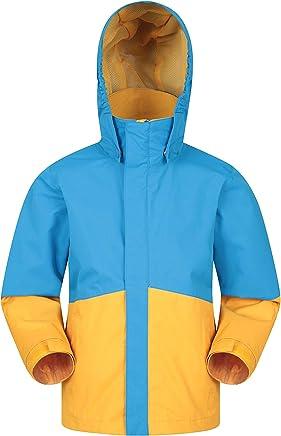 Respirante Poches Capuche en Fausse Fourrure Imperm/éable Id/éale pour Camper en Hiver Mountain Warehouse Veste de Ski Glacial Youth Enfant