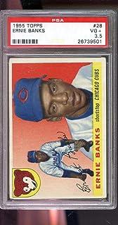 Verzamelkaarten, ruilkaarten Verzamelingen 2013 Topps Museum Collection Green #91 Ernie Banks Chicago Cubs Baseball Card