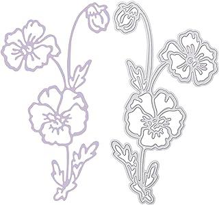 OOTSR Dies Scrapbooking de Fleur, Matrices De Découpe Bricolage, Die DéCoupe Pochoir pour Gaufrage/Fabrication de Cartes/P...