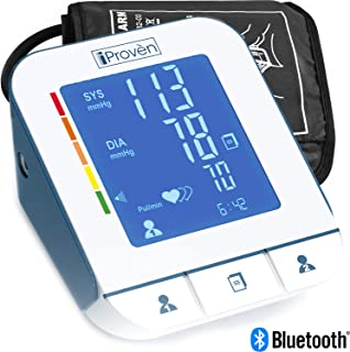 iProvèn Blood Pressure Monitor Clinical Upper Arm -Premium Technology: Double Pulse Detection Technology -