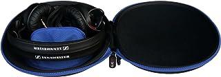 Funda para auriculares Sennheiserde GEM HD 25 Basic Edition, auriculares de DJ. Bolsa de accesorios y correa de hombro incluidas