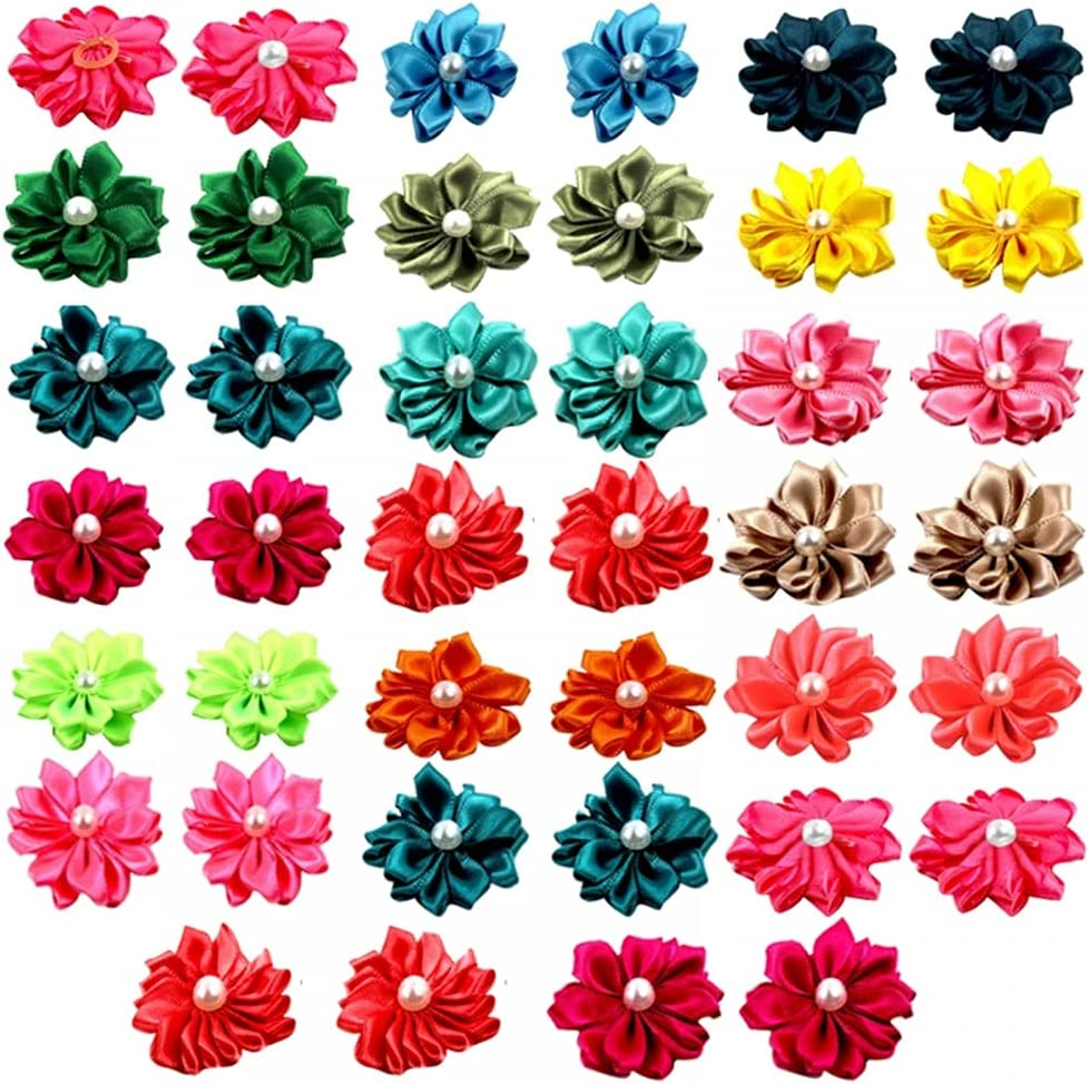 MiOYOOW ! Super beauty product restock quality top! 40Pcs Pet Bow Hairpin Hair Topknot Miami Mall Waterproof Dog C