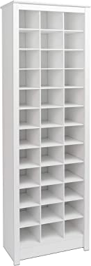 Prepac Shoe Storage Cabinet, 36 Pair Rack, White
