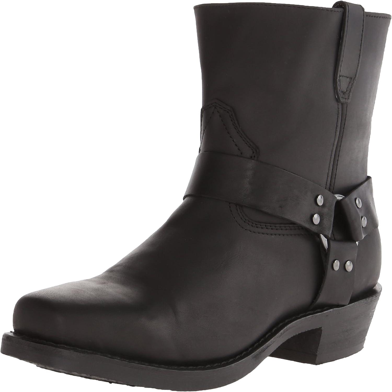 Dingo Men's Rev Up Western shoes,Black,9 EW US