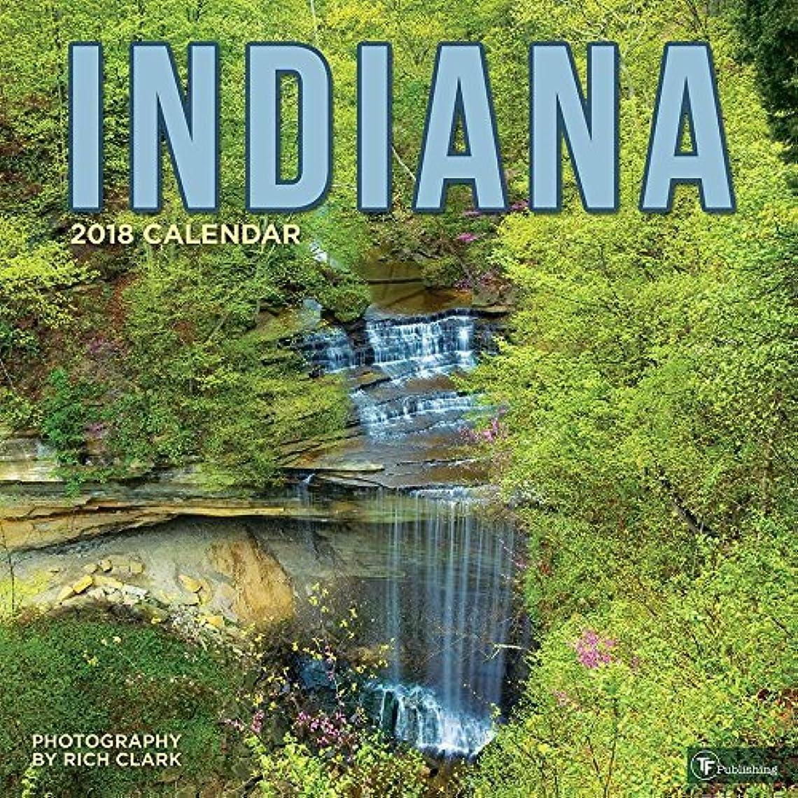 安いです不機嫌指紋2018 Indiana Wall Calendar [並行輸入品]