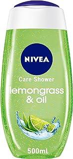 جل استحمام زيت وعشب الليمون من نيفيا، زيوت العناية باللؤلؤ، رائحة عشب الليمون، 500 مل