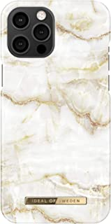 iDeal of Sweden MARBLE Apple iPhone 12 Pro Max Case - Fashionable Swedish Design Marble Stone iPhone Back Cover, Wireless ...