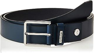 Calvin Klein Jeans Men's 3.5Cm Adj.Metal Plate Belts