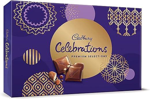 Cadbury Celebrations Premium Assorted Chocolate Gift Pack, 281 g 1