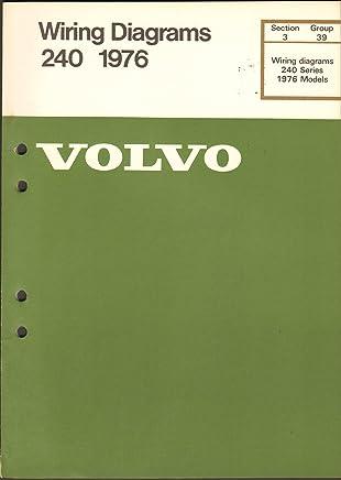 volvo wiring diagrams 240 series 1976 model