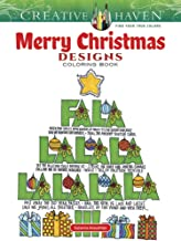 Creative Haven Merry Christmas Designs Coloring Book (Creative Haven Coloring Books)