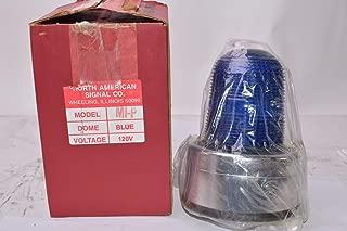 North American Signal Co MIP-ACB Blue Visual Signal Light - 120V, 60 Hz
