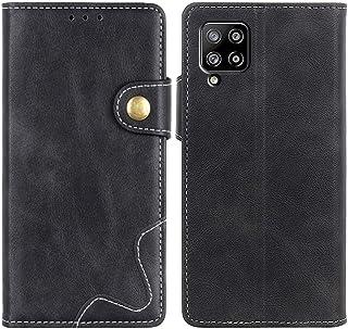 MOONCASE Galaxy A42 5G Case, Premium PU Leather Cover Wallet Pouch Flip Case Card Slots Magnetic Closure Mobile Phone Prot...