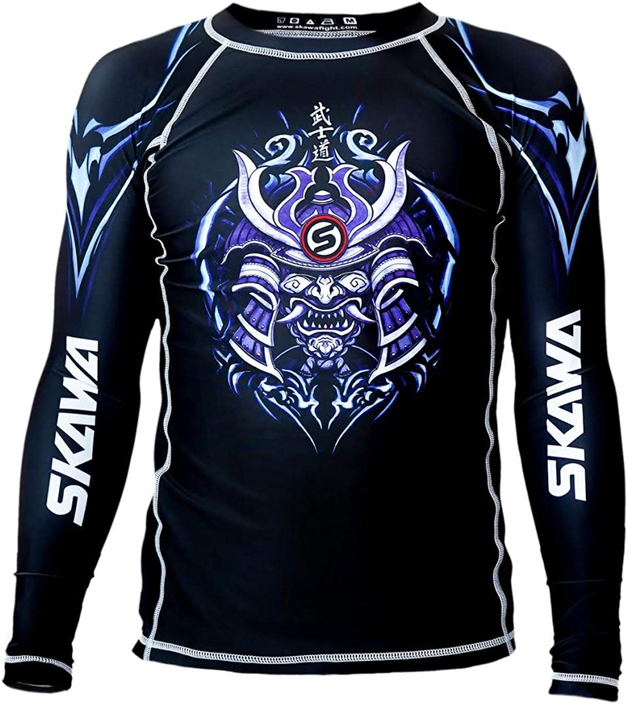 SKAWA Mens Samurai No Gi Long Rashguard MMA Super popular specialty store Sleeve BJJ Under blast sales Shirt Ras