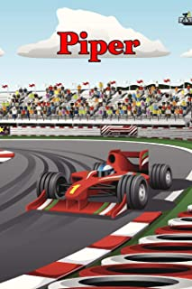 Piper: Racecar Blank Comic Book Notebook Journal book 120 pages 6