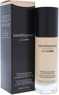 bareMinerals BarePro Performance Wear Liquid Foundation Cashmere 06, 1 Fluid Ounce
