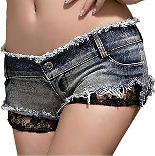 Mini Pantalones Vaqueros Mujeres De Las Caliente Elegante Moda Chicas Especial Estilo Jeans Jeans Pantalones Cortos De Mez...