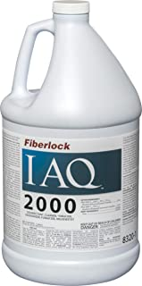 IAQ 2000 - EPA Register Surface Disinfectant Cleaner - 1 Gallon - Biocide Deodorizing Cleaner Designed to Kill and Control Fungal, Bacterial and Virucidal - by Fiberlock