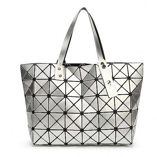 Bao Bao Issey Miyake NEW Fashion Bag Women Tote Fold summer Hand Bag Laser Geometric  Designer 45b91bdfb37dc