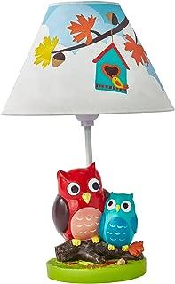 Fantasy Fields Enchanted Woodland Owl Nursery Table Lamp for Kids Room Décor