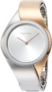 Calvin Klein Womens Digital Quartz Watch with Stainless Steel Strap K5N2S1Z6