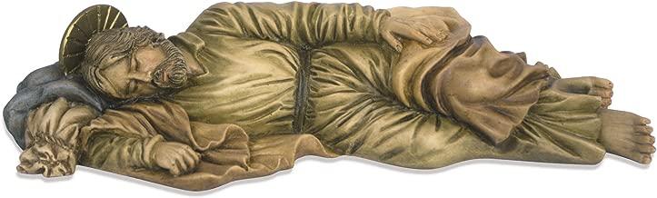 Toccare Beautiful Sleeping Saint Joseph Statue (8