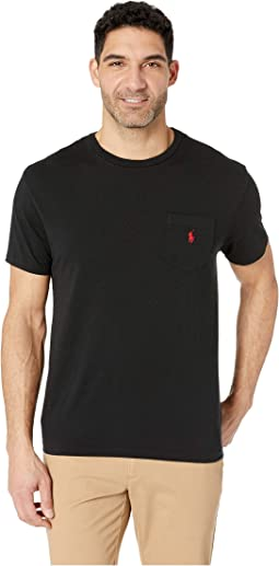 ac594236419 Short Sleeve Classic Fit Crew Neck Tee.  39.50. RL Black