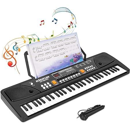 Shayson Teclado Musical Piano para Niños 61 Teclas Teclado ...