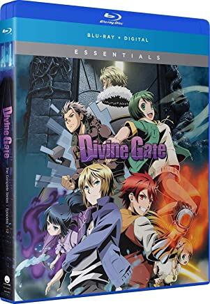 Divine Gate Complete Series Essentials Blu-Ray(ディバインゲート 全12話)