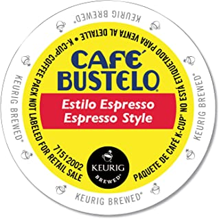 Cafe Bustelo K-cup Packs, Espresso Style, 24 Count