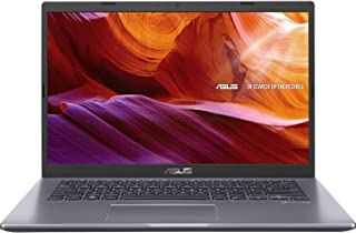 Asus Vivobook X409UA-BV087T Laptop (Slate Grey) - Intel i3-7020U 2.3 GHz, 4GB RAM, 128GB SSD, Intel UHD Shared, 14 inches, Windows 10, Eng-Arb-KB